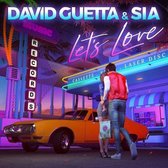 Coverafbeelding Let's Love - David Guetta & Sia