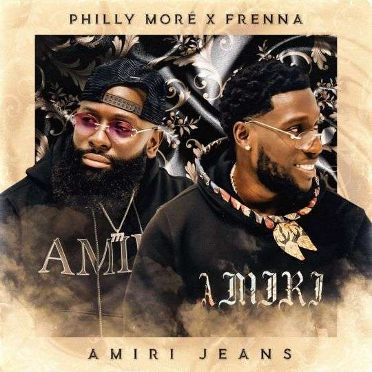 Coverafbeelding Amiri Jeans - Philly Moré X Frenna