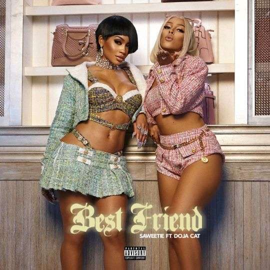 Coverafbeelding Saweetie feat. Doja Cat - Best friend