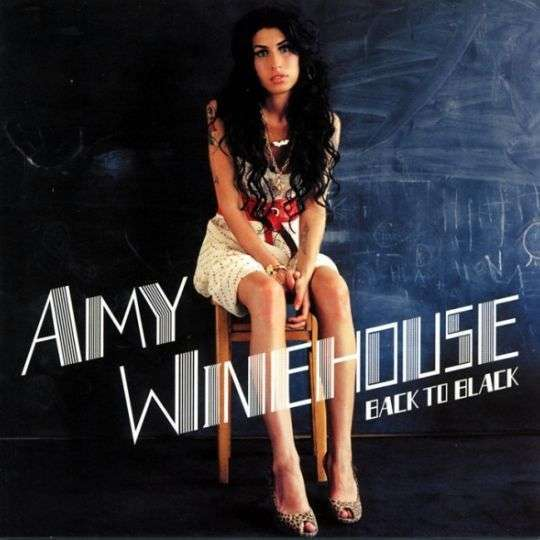 Coverafbeelding Back To Black - Amy Winehouse
