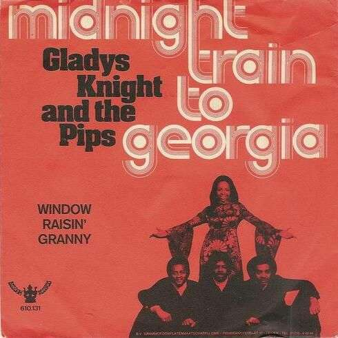 Coverafbeelding Midnight Train To Georgia - Gladys Knight And The Pips