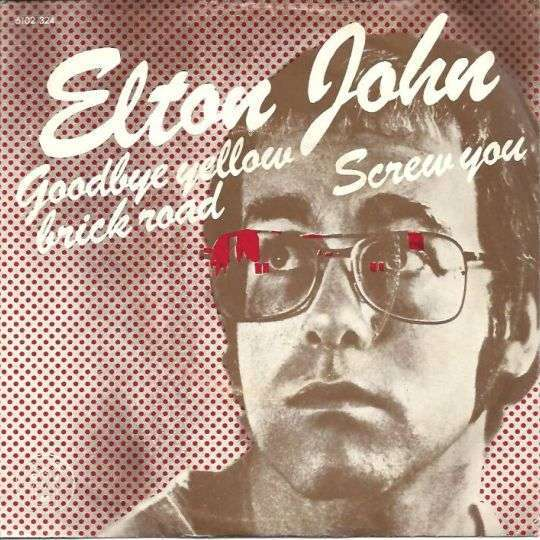 Coverafbeelding Goodbye Yellow Brick Road - Elton John