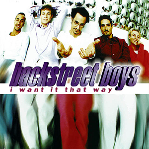 Coverafbeelding Backstreet Boys - I Want It That Way
