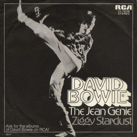 Coverafbeelding The Jean Genie - David Bowie