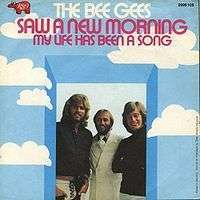 Coverafbeelding Saw A New Morning - The Bee Gees