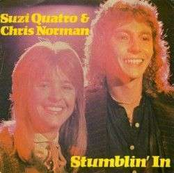 Coverafbeelding Stumblin' In - Suzi Quatro & Chris Norman