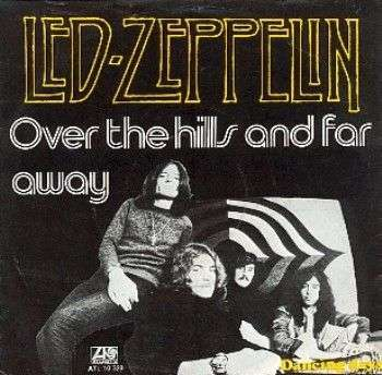 Coverafbeelding Over The Hills And Far Away - Led Zeppelin