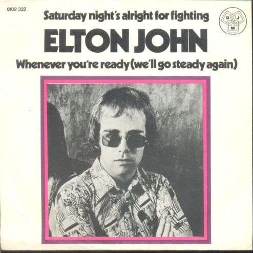 Coverafbeelding Saturday Night's Alright For Fighting - Elton John