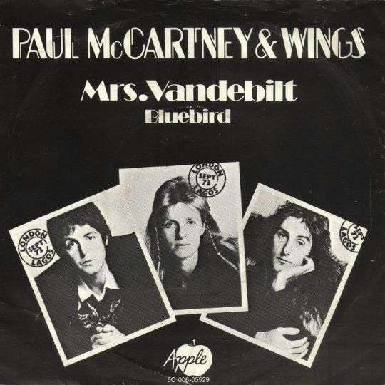 Coverafbeelding Mrs. Vandebilt - Paul Mccartney & Wings