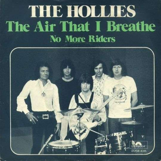 Coverafbeelding The Air That I Breathe - The Hollies