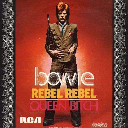 Coverafbeelding Rebel Rebel - Bowie