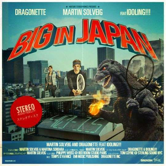Coverafbeelding Big In Japan - Martin Solveig And Dragonette Feat Idoling!!!