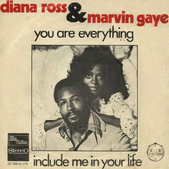 Coverafbeelding You Are Everything - Diana Ross & Marvin Gaye
