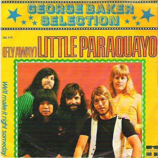 Coverafbeelding (Fly Away) Little Paraquayo - George Baker Selection