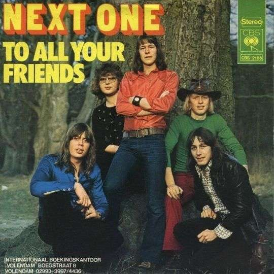 Coverafbeelding To All Your Friends - Next One
