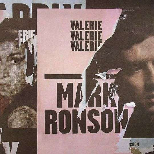 Coverafbeelding Valerie - Mark Ronson Featuring Amy Winehouse