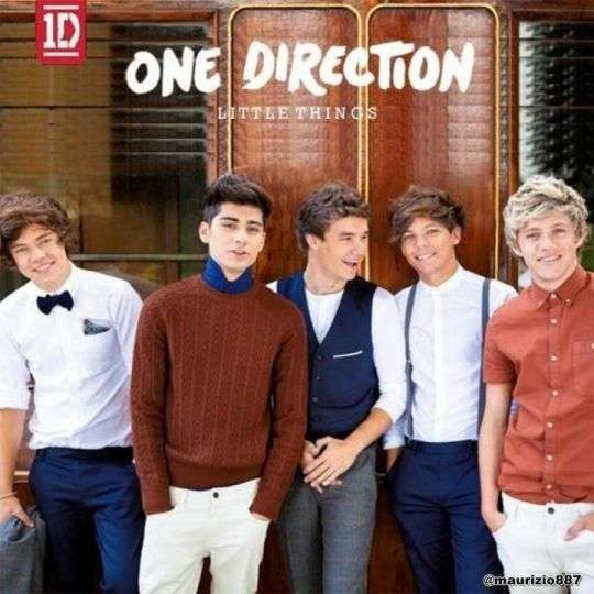 Coverafbeelding Little Things - One Direction