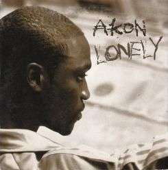 Coverafbeelding Lonely - Akon