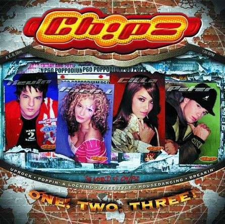 Coverafbeelding Ch!pz - One, Two, Three!
