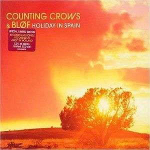 Coverafbeelding Holiday In Spain - Counting Crows & Bløf