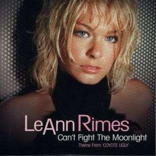 Coverafbeelding Can't Fight The Moonlight - Theme From 'coyote Ugly' - Leann Rimes