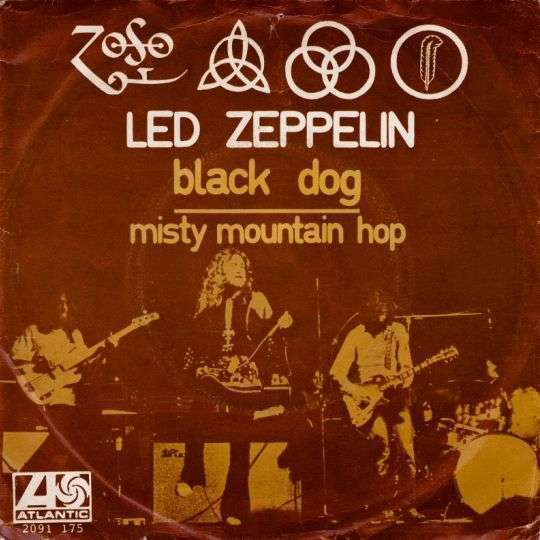 Coverafbeelding Black Dog - Led Zeppelin