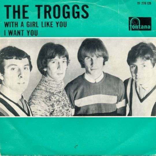 Coverafbeelding The Troggs - With A Girl Like You