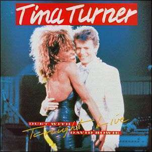 Coverafbeelding Tina Turner - duet with David Bowie - Tonight - Live