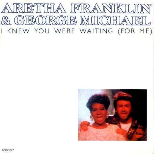 Coverafbeelding Aretha Franklin & George Michael - I Knew You Were Waiting (For Me)