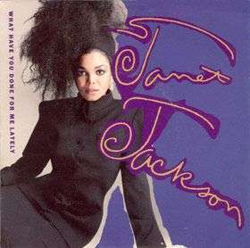 Coverafbeelding What Have You Done For Me Lately - Janet Jackson