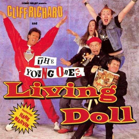 Coverafbeelding Living Doll - Comic Relief Presents: Cliff Richard And The Young Ones Featuring: Hank Marvin