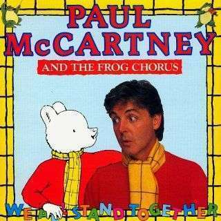 Coverafbeelding Paul McCartney and The Frog Chorus - We All Stand Together