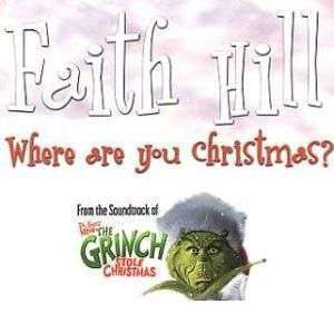 Coverafbeelding Where Are You Christmas? - Faith Hill
