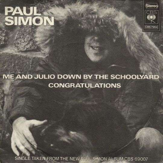 Coverafbeelding Me And Julio Down By The Schoolyard - Paul Simon