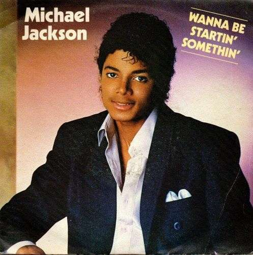 Coverafbeelding Wanna Be Startin' Somethin' - Michael Jackson