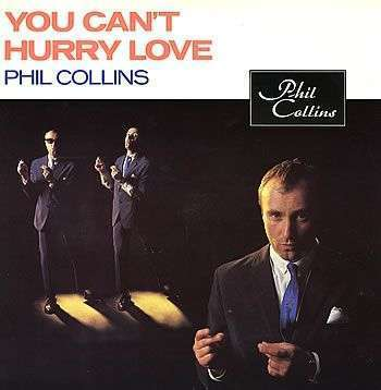 Coverafbeelding Phil Collins - You Can't Hurry Love