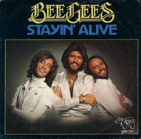 Coverafbeelding Stayin' Alive - Bee Gees