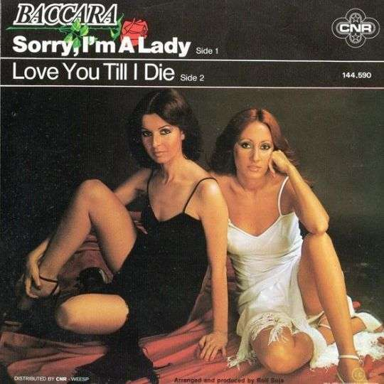 Coverafbeelding Baccara - Sorry, I'm A Lady