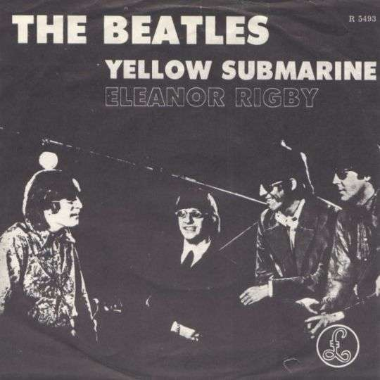 Coverafbeelding The Beatles - Eleanor Rigby/ Yellow Submarine