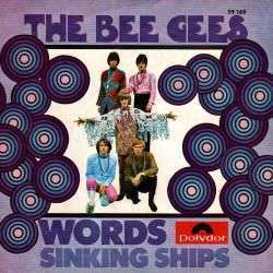 Coverafbeelding Words - The Bee Gees