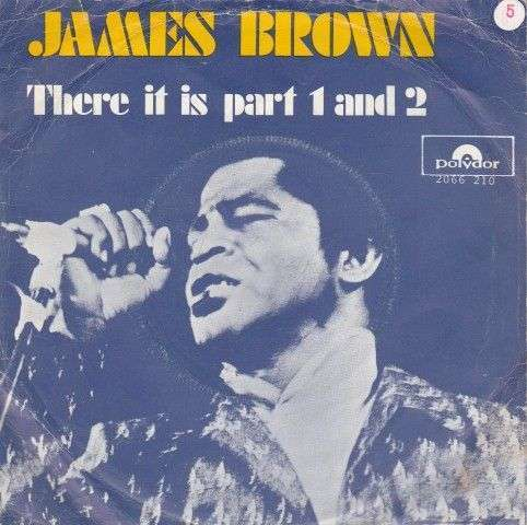 Coverafbeelding There It Is - James Brown