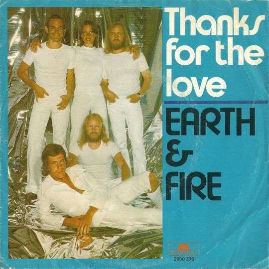 Coverafbeelding Thanks For The Love - Earth & Fire
