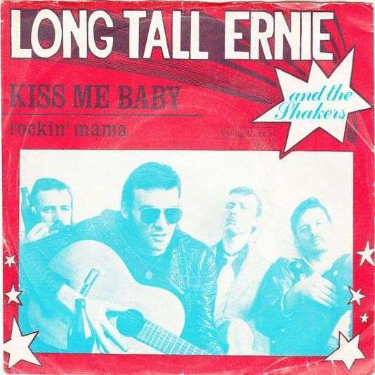 Coverafbeelding Kiss Me Baby - Long Tall Ernie And The Shakers