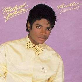 Coverafbeelding Thriller (Special Edit) - Michael Jackson