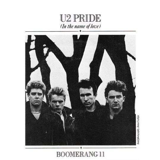 Coverafbeelding Pride (In The Name Of Love) - U2