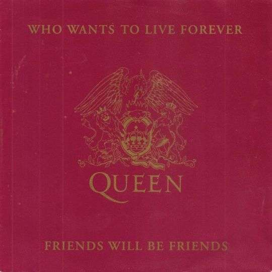 Coverafbeelding Queen - Who Wants To Live Forever