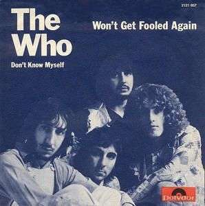 Coverafbeelding Won't Get Fooled Again - The Who
