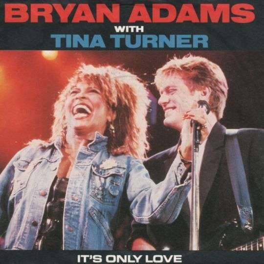 Coverafbeelding It's Only Love - Bryan Adams With Tina Turner