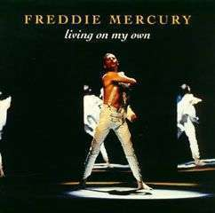 Coverafbeelding Living On My Own - Freddie Mercury