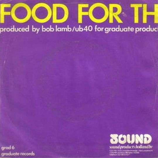 Coverafbeelding Food For Thought - Ub40